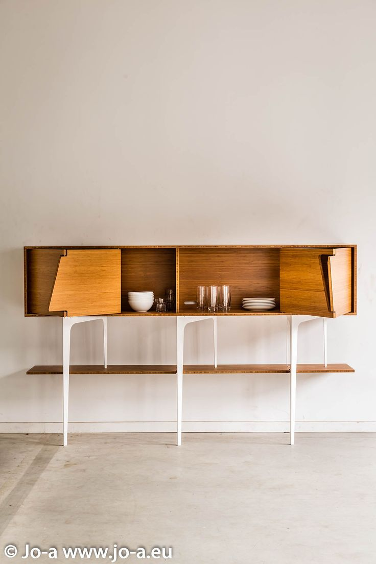 Superior Solid Wood Sideboard With Doors NEUS By Jo A | Design Sébastien Boucquey