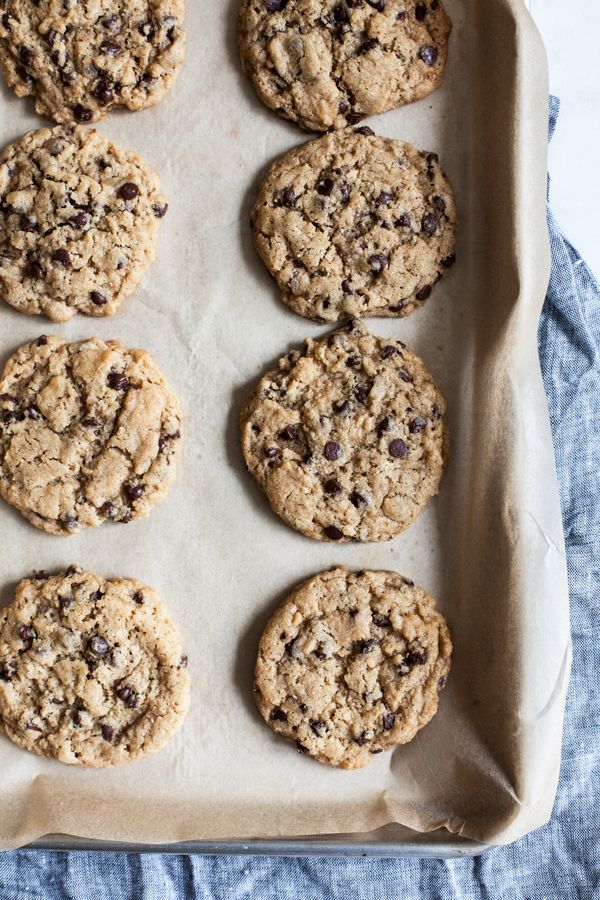 America's Test Kitchen vegan chocolate chip cookies are perfect for dessert, a sweet snack, or dipping into a cold glass of non-dairy milk!