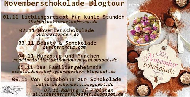 Katis-Buecherwelt: [BLOGTOUR] Novemberschokolade ~ Ulrike Sosnitza ~ ...