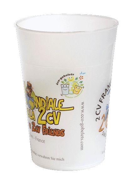 gobelet plastique réutilisable personnalisable, pas cher, recyclable - eco-gobelets.com