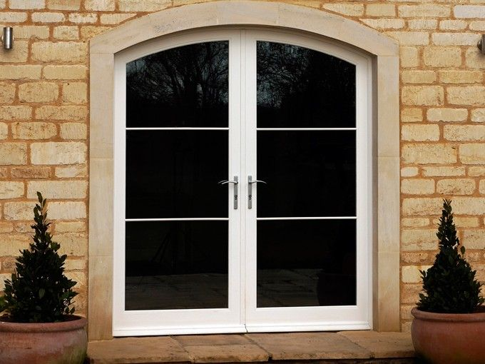 Timber #FrenchDoors manufactured and installed by The Sash Window Workshop