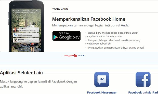 download facebook selular