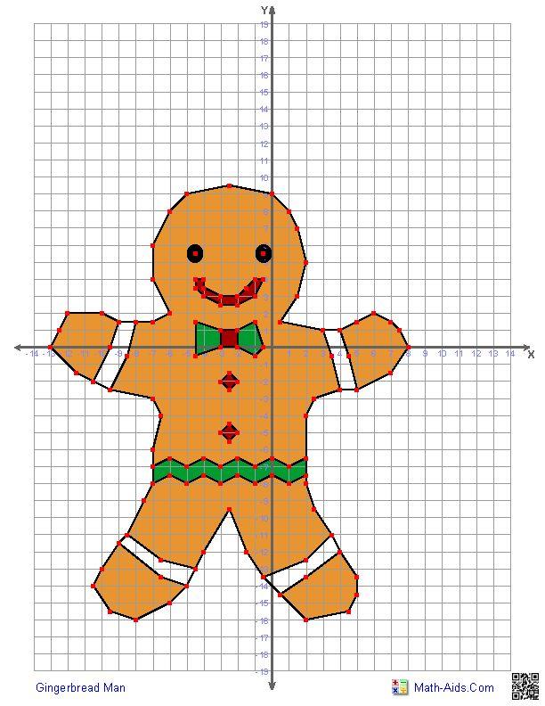 Gingerbread Man Math Aids Com Pinterest Christmas