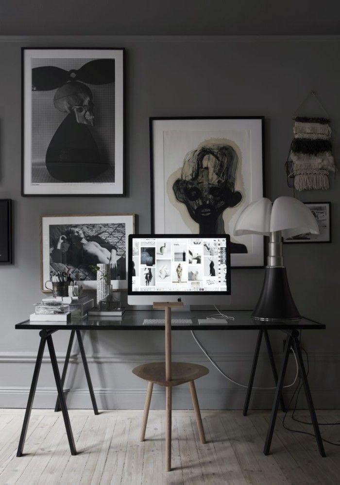 Mörka toner hemma hos Lotta Agaton – se alla bilder här | Residence