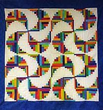 271 best Quilt Log Cabin images on Pinterest | Log cabin quilts ... : cabin style quilts - Adamdwight.com
