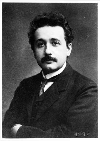 """Albert Einstein (1879–1955) German-born theoretical physicist who developed the general theory of relativity, one of the two pillars of modern physics. While best known for his mass–energy equivalence formula E = mc2 (which has been dubbed """"the world's most famous equation""""), he received the 1921 Nobel Prize in Physics """"for his services to theoretical physics, & especially for his discovery of the law of the photoelectric effect"""". The latter was pivotal in establishing quantum theory."""