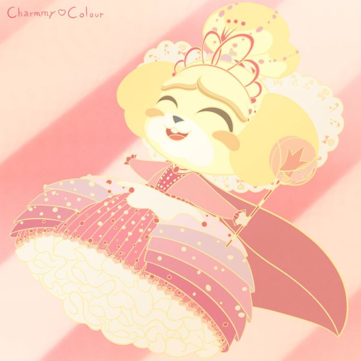 Princess Isabelle Animal Crossing/WreckIt Ralph by