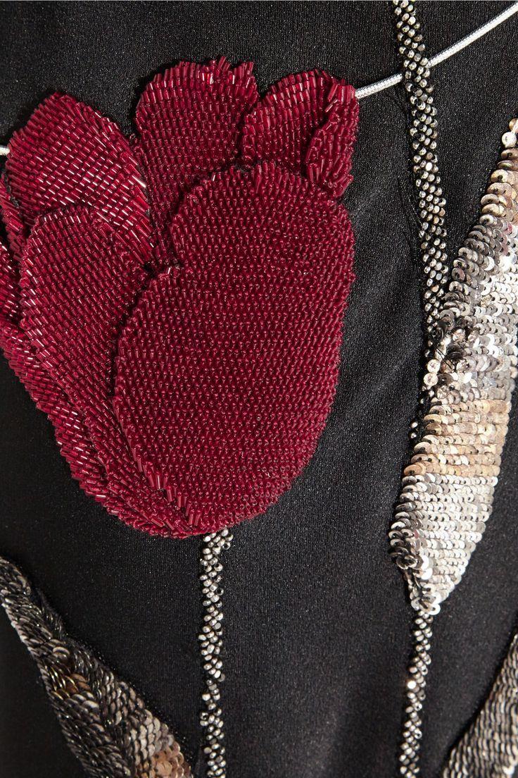 Alexander McQueen | Embellished satin-crepe gown |