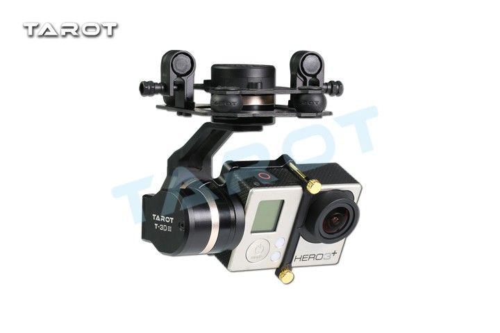 Tarot TL3T01 Update from T4-3D 3D Metal 3-axis Brushless Gimbal for GOPRO GOPRO4/GOpro3+/Gopro3 FPV Photography F17391