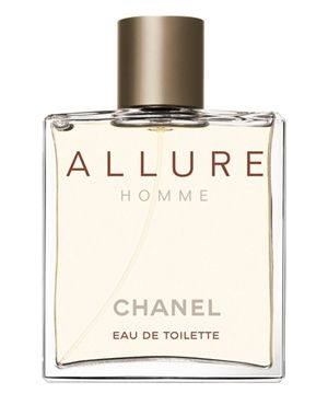 Allure Pour Homme Chanel cologne - a fragrance for men 1999 - The top notes are mandarin, lemon, peach and bergamot; middle notes – freesia, geranium, rose and jasmine, and in the base – benzoin, tonka, sandalwood and vanilla.