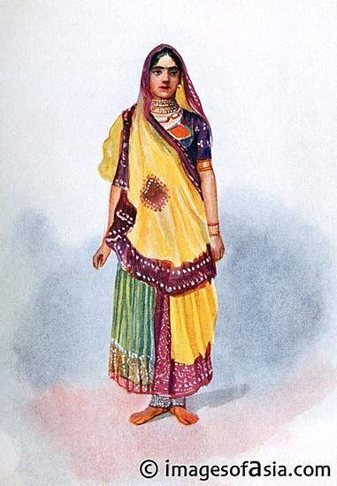Картинки как одевались древние индийцы