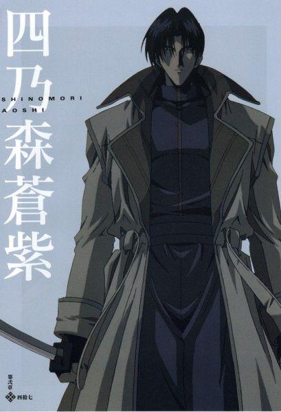 Tags: Anime, Rurouni Kenshin, Aoshi Shinomori, Official Art