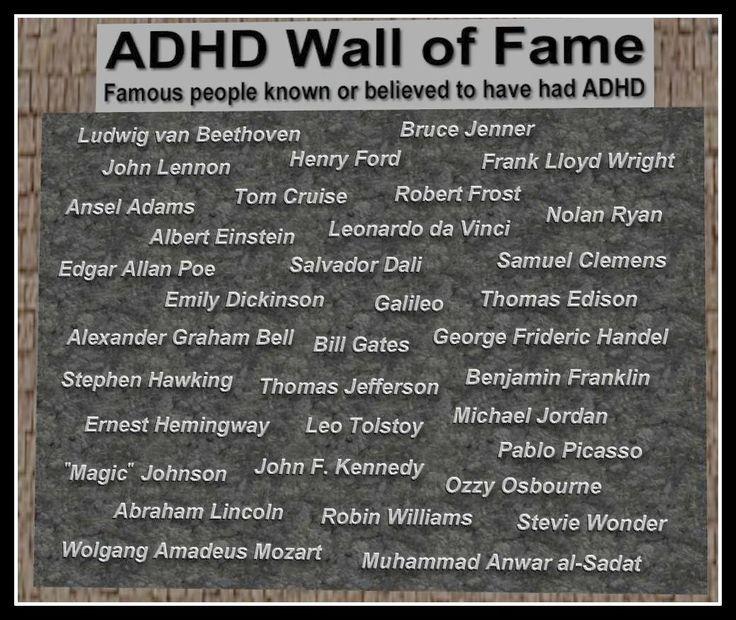 ADHD Hall of Fame