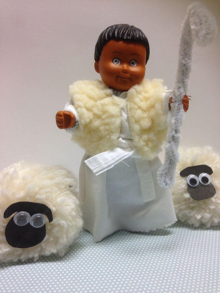 Pompom lambs