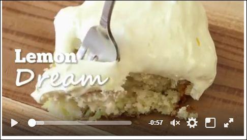 Lemon Dream Cake! Cake mix + Lemon Pie Filling + Special Frosting = Best Cake Ever! RECIPE HERE: http://www.thecountrycook.net/2012/07/lemon-dream-cake.html https://www.facebook.com/permalink.php?story_fbid=336141200118612&id=100011682038926
