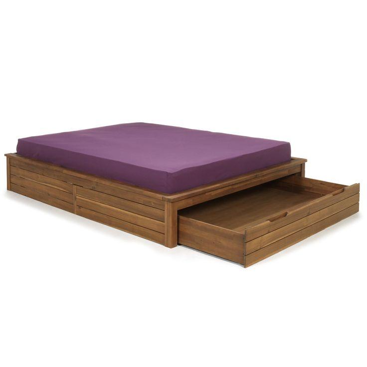 Les 25 meilleures id es concernant le tableau lit avec tiroir sur pinterest - Lit 2 places avec tiroir ...