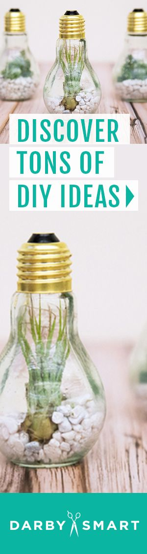 Discover easy, fun DIY projects and get everything you need to try them at home at Darby Smart.