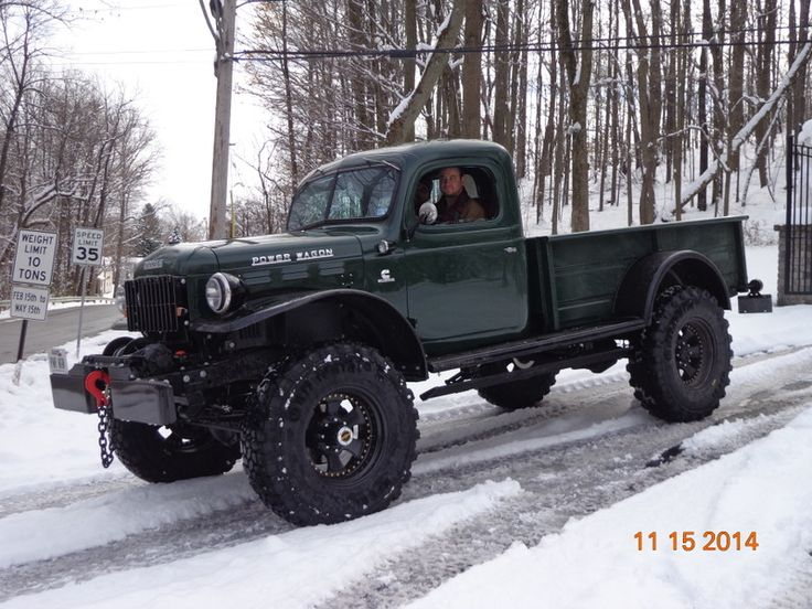 Dodge Power Wagon with Cummins