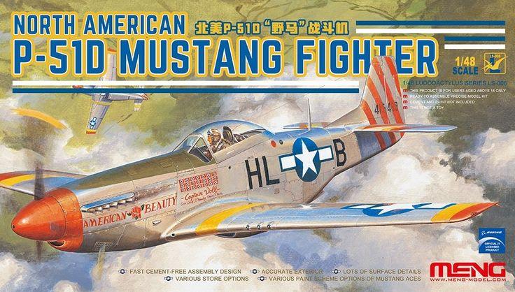 Meng P-51 Snap together kit.