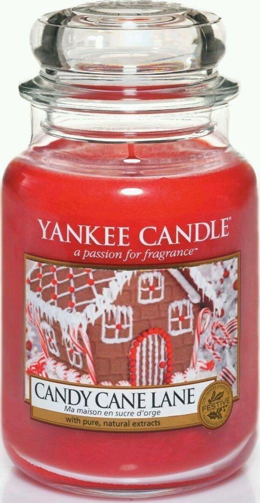 Yankee Candle Candy Cane Lane Large Jar