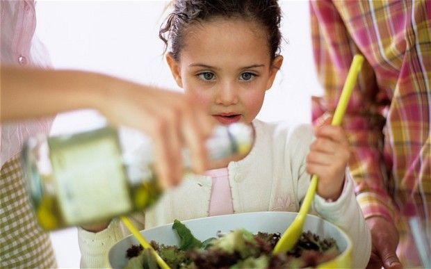 Children who learn to cook before the age of eight are 50 per cent more likely to have a healthy diet later in life, a new study found.