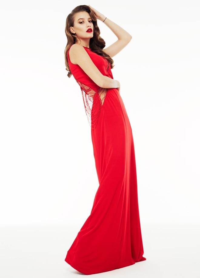 Jus de Pommes Üst şifon boncuk işli uzun elbise Markafoni'de 999,99 TL yerine 299,99 TL! Satın almak için: http://www.markafoni.com/product/3112089/