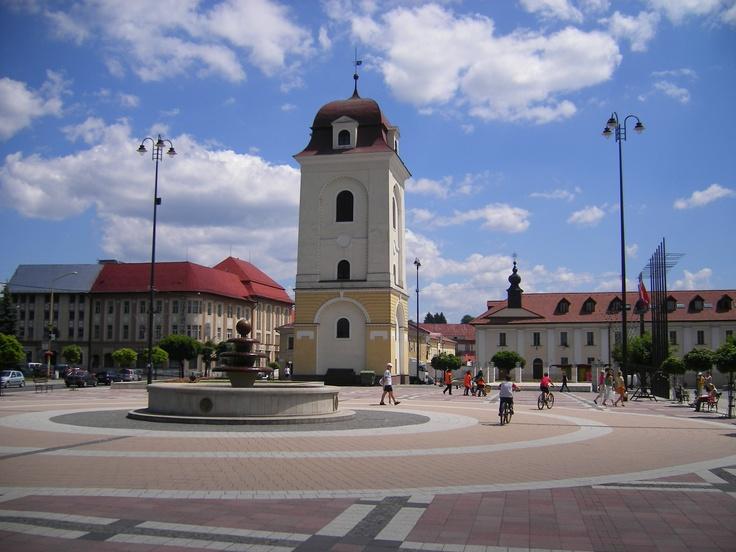 Slovakia, Brezno - Square
