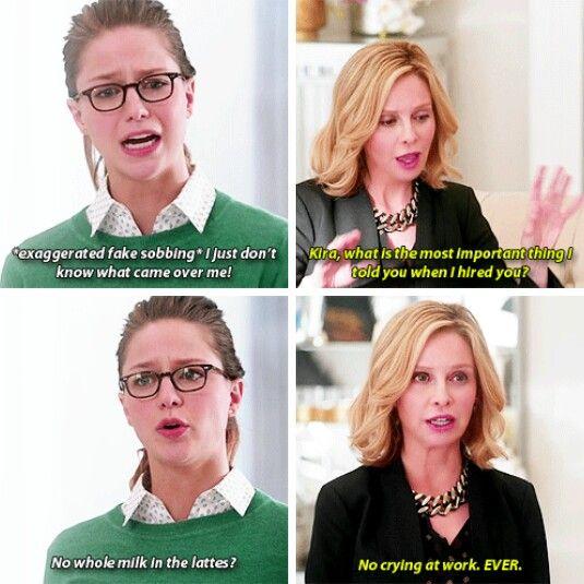 """Especially not BIG, FAT crocodile tears..."" #Supergirl #Season1 #1x13"
