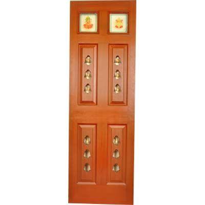 9 best images about pooja room doors on pinterest for Pooja room entrance door designs