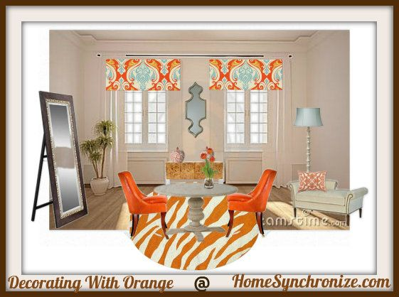 Color Psychology: Decorating With Orange