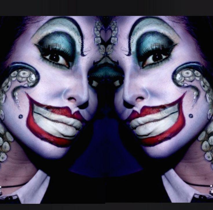 IG: ellie35x Halloween makeup - Ursula