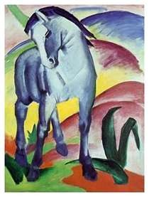 Blue Horse, Franz Marc - German Expressionist (1880-1916) http://www.bing.com/images/search?q=blue+horse+painting+franz+Marc=blue+horse+painting+franz+Marc=IGRE#x0y284