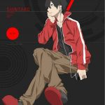 Mekakucity Actors Shintaro iPhone Wallpaper