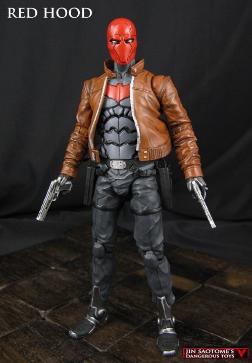 Custom DC Collectibles Red Hood and the Outlaws figure modification