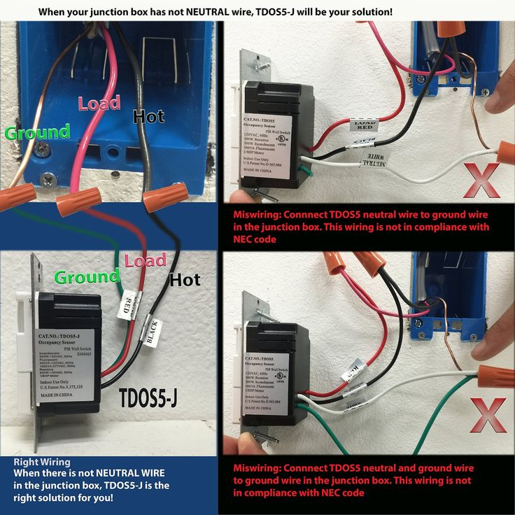 TOPGREENER TDOS5W 2in1 PIR Occupancy/Vancancy Motion