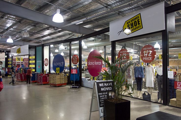 Buy 1 pair and get the 2nd half price at Big Brands Shoes Clearance https://www.facebook.com/DFOJindaleeQLD?fref=ts