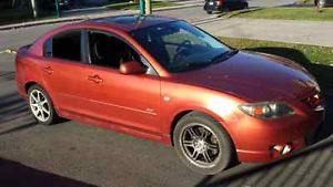 2004 Mazda 3 GT 50 000km ONLY for sale in Montreal, Quebec http://cacarlist.com/mazda/2004-mazda-3-gt-50-000km-only_16965-18080.html