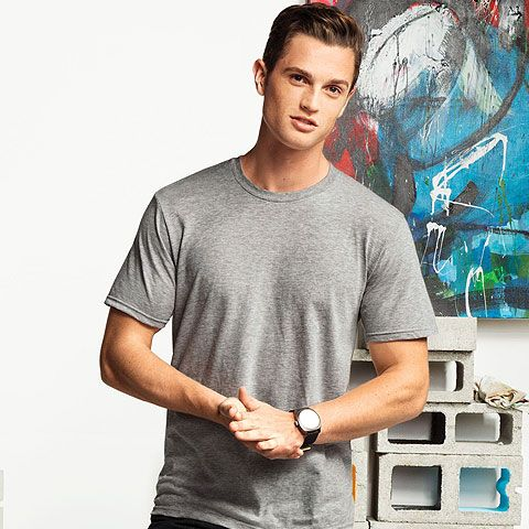 District Young Mens Bouncer Tee-DT7000