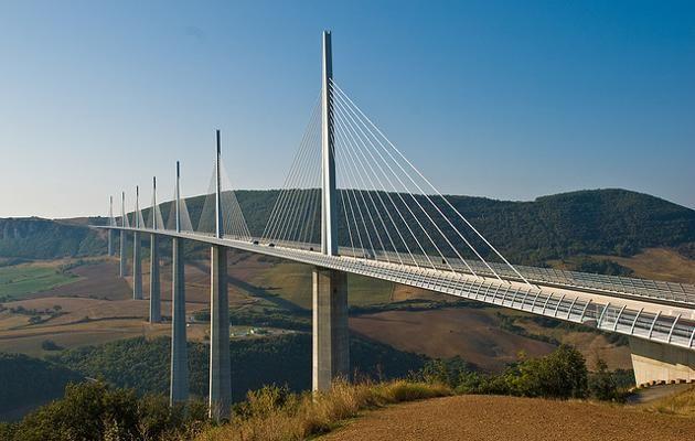 Millau Viaduct  It opened in 2004.  Flissphil photo on Flickr