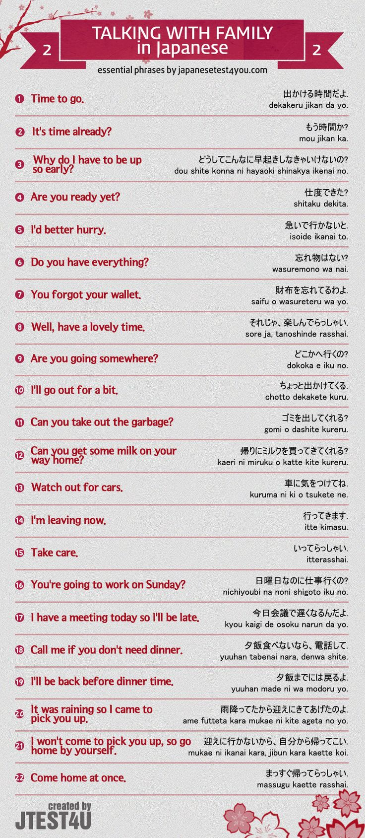 Infographic: how to talk to your family members in Japanese part 2. http://japanesetest4you.com/infographic-talk-family-members-japanese-part-2/