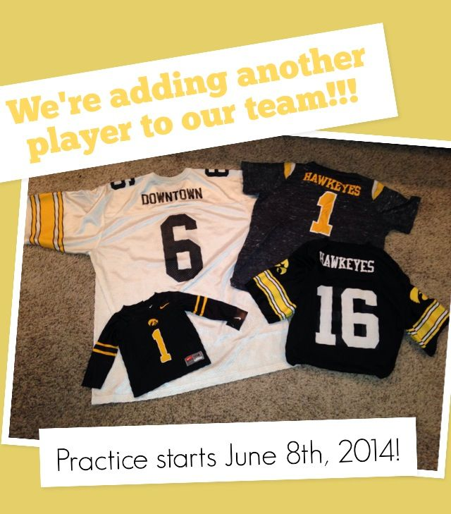 11 best Announcement ideas images – Football Birth Announcements