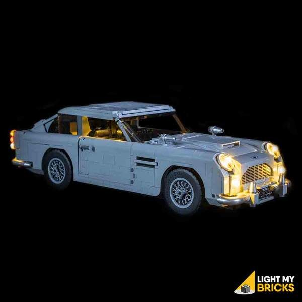James Bond Aston Martin DB5 Custom Modular Building Blocks Set