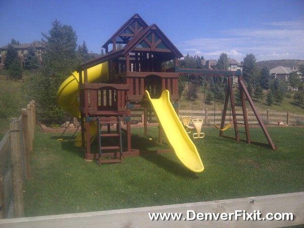 Genial Backyard Adventures Playset Move To Morrison, CO.
