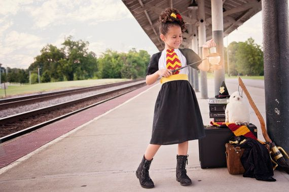 Boutique custom handmade Harry Potter inspired Gryffindor