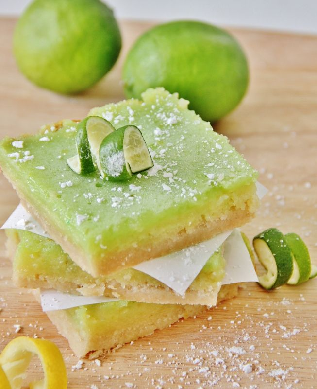 Yum !!!! Lemon Lime Bars Recipe by @deb rouse schwedhelm rouse schwedhelm Keller Farm