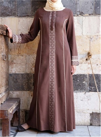 SHUKR International | Asiya Embroidered Dress
