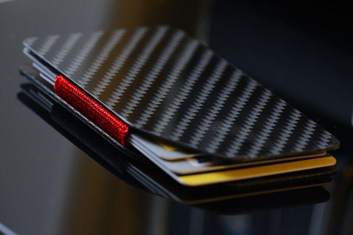 Tronic - The Thin Flexible Carbon Fibre card wallet by Peter Wright — Kickstarter