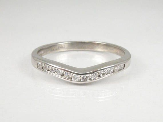 Diamond Wedding Ring  Diamond Ring Enhancer  12 Diamonds $185