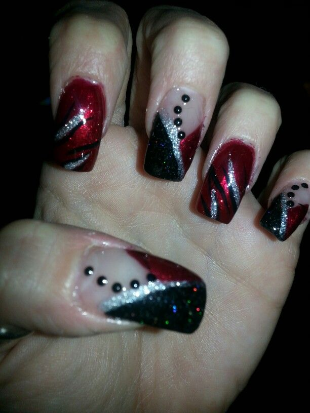 7 best Foil images on Pinterest | Beauty, Metallic nails and Nail ...