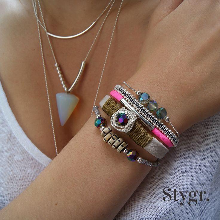 Silver mix and match jewelry. Stygr. - Handmade Designs.  www.stygr.com